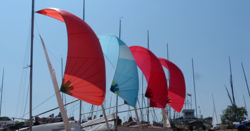 New rule spinnakers now legal