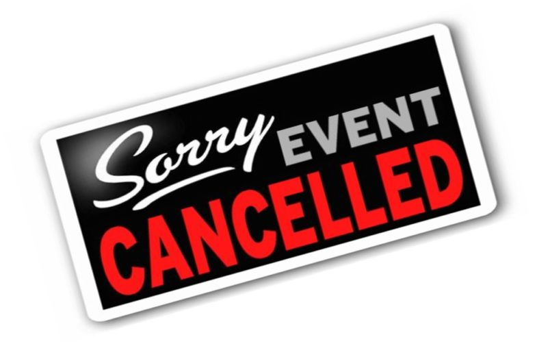 Herne Bay Open cancelled